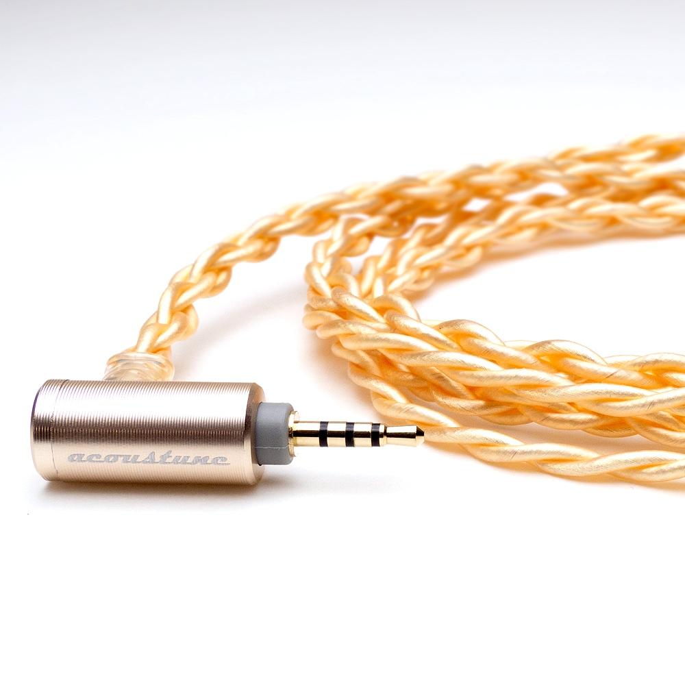 Acoustune イヤホンケーブル ARC72-PENTACONN-2.5 [2.5mm 4極プラグ - Pentaconn Ear コネクター][簡易包装]