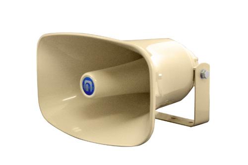 <樹脂製ホーンスピーカ> NOBORU(ノボル電機製作所)NP-315拡声用音響装置