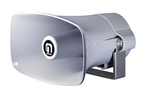 外部突起規制対応ホーンスピーカNOBORU(ノボル電機製作所)NP-110G車載用拡声装置