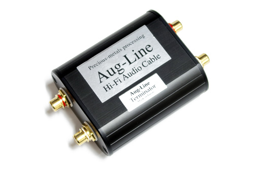 新製品!武藤製作所 AUG-LINE オーグラインターミネーターラインコンディショナーホームオーディオ/カーオーディオ兼用出来ます!新世代の音質改善機器です!