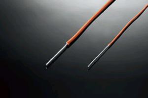 オーグライン プラチナ 0.8mm 武藤製作所 Aug-Lineオーグ+PT PTFE 被膜線 単線 (長さ1m)★★