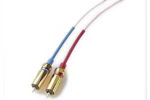 武藤製作所 Aug-Line(オーグライン)ソリッドオーグライン+プラチナRCAケーブル(±30cm/ペア)1mと同時注文時に承ります(長さ調整)
