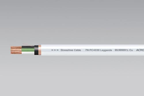 【新製品】パワーケーブルACROLINK(アクロリンク)7N-PC4030 Leggenda CB(長さ1m×1本)株式会社アクロジャパン切り売り
