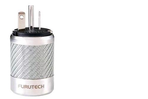 FURUTECH (フルテック)FI-52MNCF(R)ロジウムメッキ仕様 ハイエンドグレード 20A電源プラグ