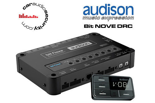 【新製品】audison(オーディソン)BIT NOVE DRCデジタルプロセッサー