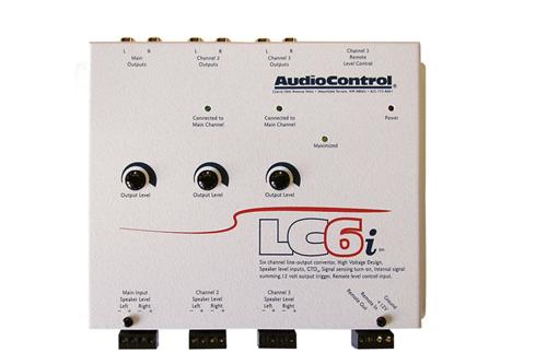AUDIO CONTROL(オーディオコントロール)LC6i.W6chライン出力コンバーター