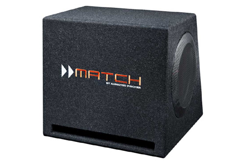 (正規品) <車載用>MATCH PP-10ED PP-10ED 25cm DVC ダブルウーファーボックス