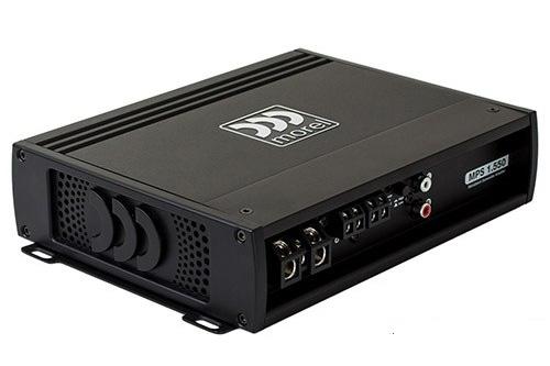 【新製品】正規品morel(モレル)MPS1.5501chパワーアンプ車載用