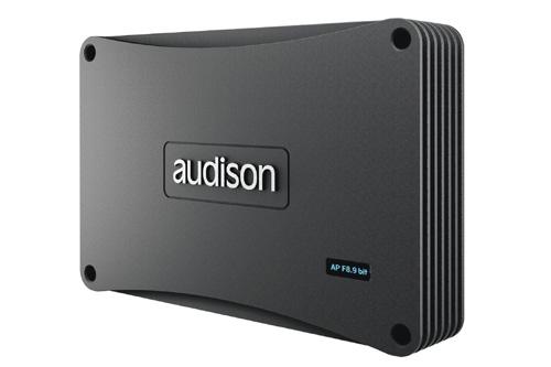 【新製品】audison(オーディソン)APF8.9bit DRC(リモコン付き)車載用DSP内蔵8chアンプ