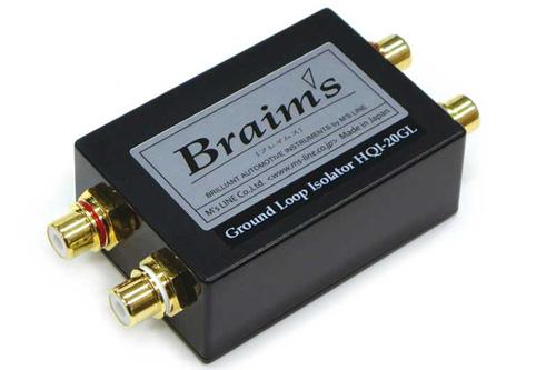 【新製品】 Braims(ブレイムス)車載用HQI-20GLウルトラ Grand-Loop アイソレーター