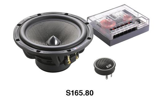 BLAM(ブラム)S165.80A165mmセパレート型2ウェイスピーカー正規品車載用スピーカー