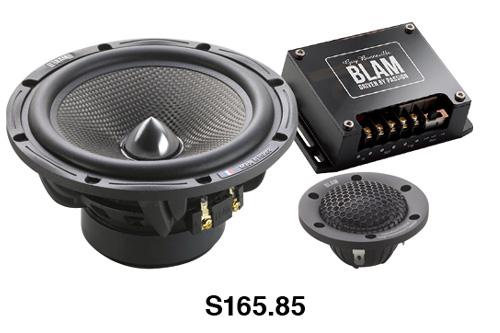 BLAM(ブラム)S165.85A165mmセパレート型2ウェイスピーカー正規品車載用スピーカー