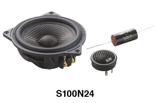 BLAM(ブラム)S100N24A100mmセパレート型2ウェイスピーカー正規品車載用スピーカー