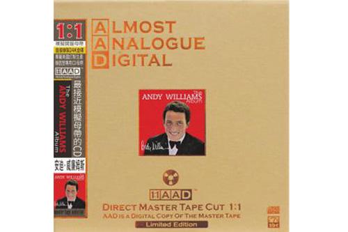 【新製品】ABC Records(エービーシーレコード)AADシリーズAAD-111アンディ・ウィリアムス