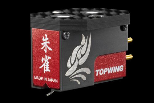TOP WING(トップウイング) 朱雀 SUZAKUコアレス・ストレートフラックス方式カートリッジ針交換:1回無料納期:一か月