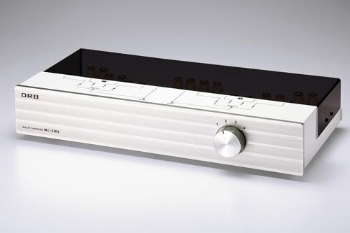 ORB(オーアールビー) MC-SW2i4ch パワーアンプ・スピーカーセレクター (1入力/4出力)・(4入力/1出力)タイプ