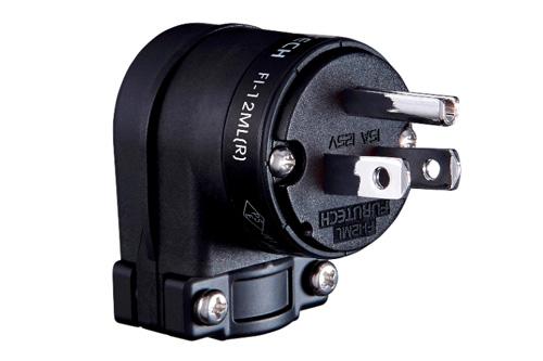 FURUTECH (フルテック)FI-12ML(R) ロジウムメッキL型電源プラグ