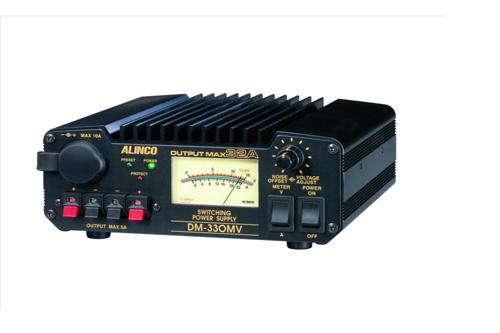 新作アイテム毎日更新 スイッチング方式だから小型軽量高出力 ALINCO アルインコ DM-330MVMax 32A 安定化電源器 AC100V-DC12V 半額