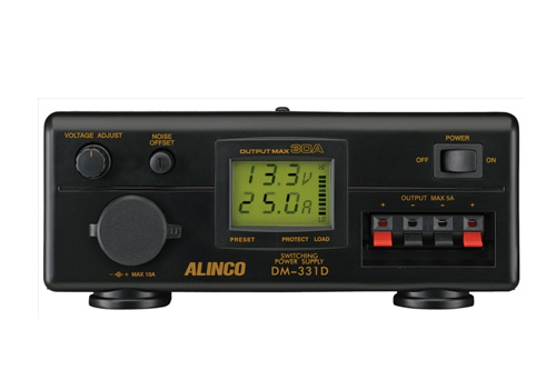 ALINCO(アルインコ)DM-331DMax 30A PSE規格適合安定化電源器(AC100V-DC12V)