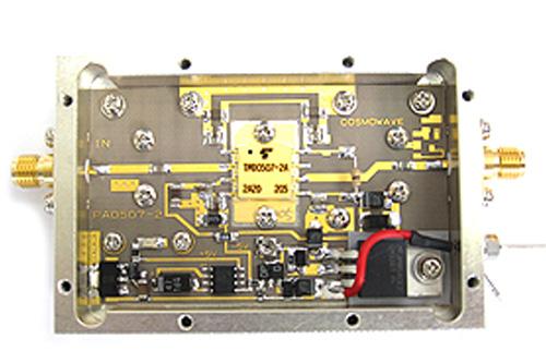 【新製品】COSMOWAVE(コスモウェーブ)無線用PW0507DG5700MHz帯パワーアンプユニット