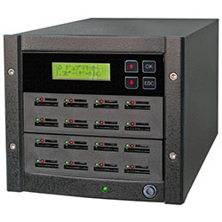 SD写楽 1:15 SDカードデュプリケーター 15枚タイプ SRSD-15D コムワークス