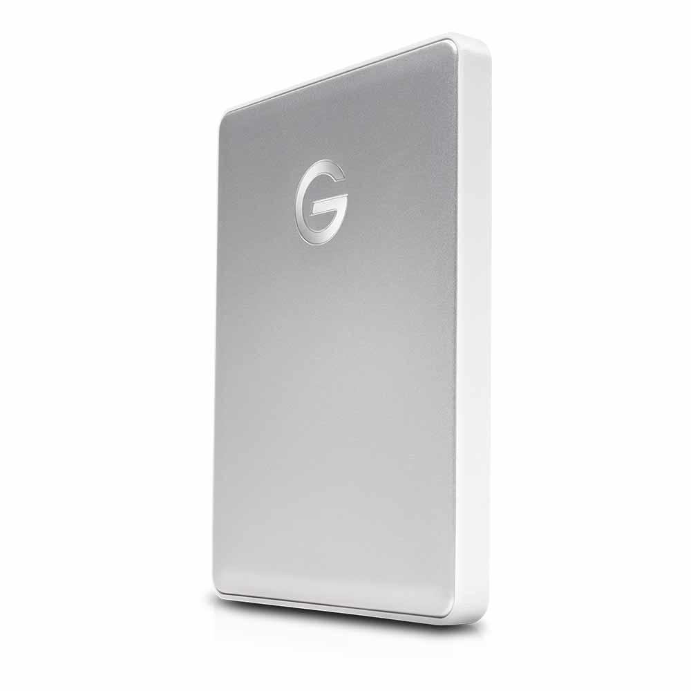 《在庫あり》G-Technology G-DRIVE mobile USB-C 2TB Silver [0G10339]