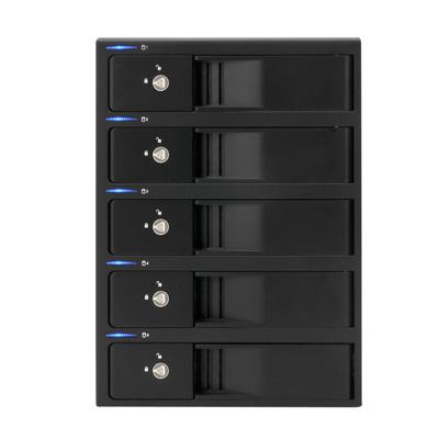 《在庫あり》CENTURY(センチュリー)裸族のインテリジェントビル5Bay USB3.0+eSATAコンボ Ver.2 [CRIB535EU3V2]【送料無料】
