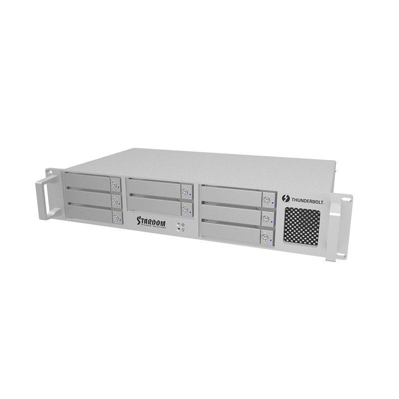 TOSHIBA製8TB搭載容量:64TB 《お取り寄せ》DECK RAID 64TB [DR8-TB2-640001]