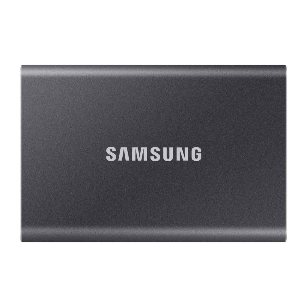 《在庫あり》SAMSUNG(サムスン)Portable SSD T7 2TB チタングレー [MU-PC2T0T/IT]