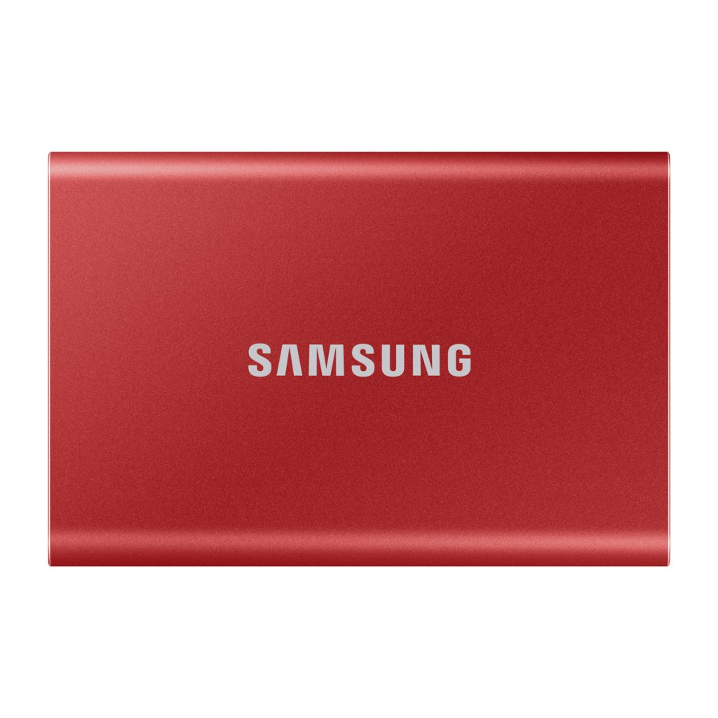 《在庫あり》SAMSUNG(サムスン)Portable SSD T7 1TB メタリックレッド [MU-PC1T0R/IT]