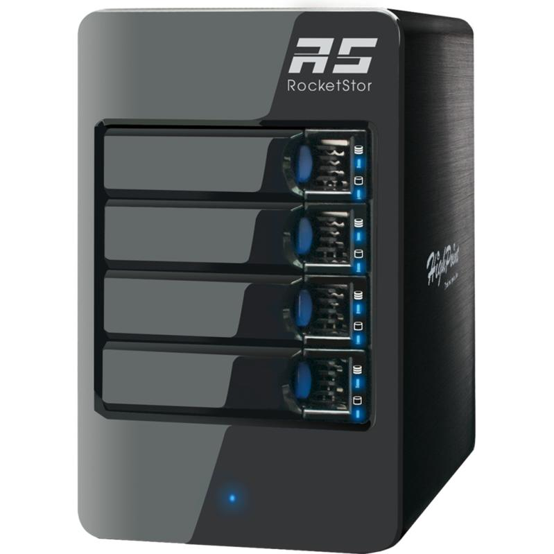 《在庫あり》HighPoint RocketStor 6314A Thunderbolt2 RAID Enclosure [RS6314A]