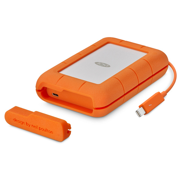 《在庫あり》LACIE(ラシー)Rugged TB USB-C(5TB) [STFS5000800]