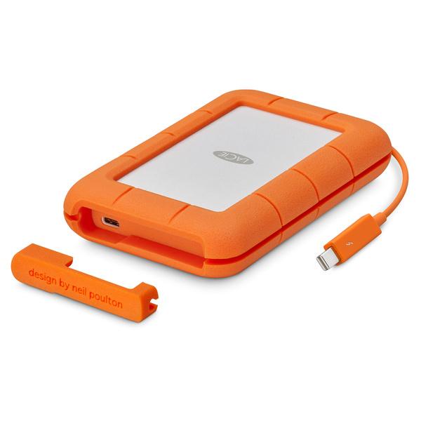《在庫あり》Lacie(ラシー)Rugged Thunderbolt USB-C SSD/500GB [STFS500400]