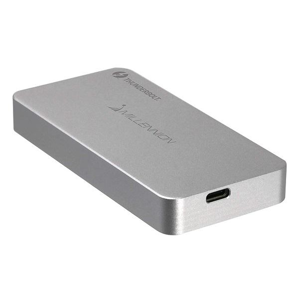 《在庫あり》MILLENNION Tximista:Thunderbolt3 NVMe M.2 SSD Enclosure [TXM02S]
