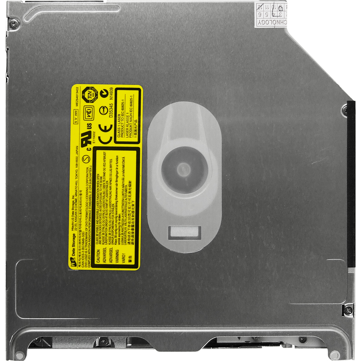 《在庫あり》ウルトラスリムDVDドライブ for Unibody MacBook、MacBookPro Mid2009以降用 [GS41N]