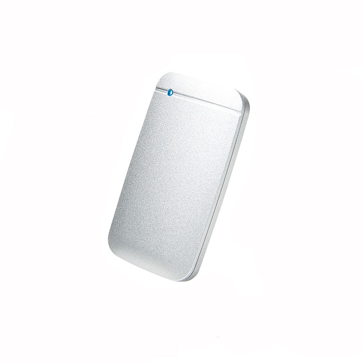 《お取り寄せ》ELECOM(エレコム) USB Type-Cケーブル付き外付けポータブルSSD 1TB シルバー [ESD-EF1000GSV]
