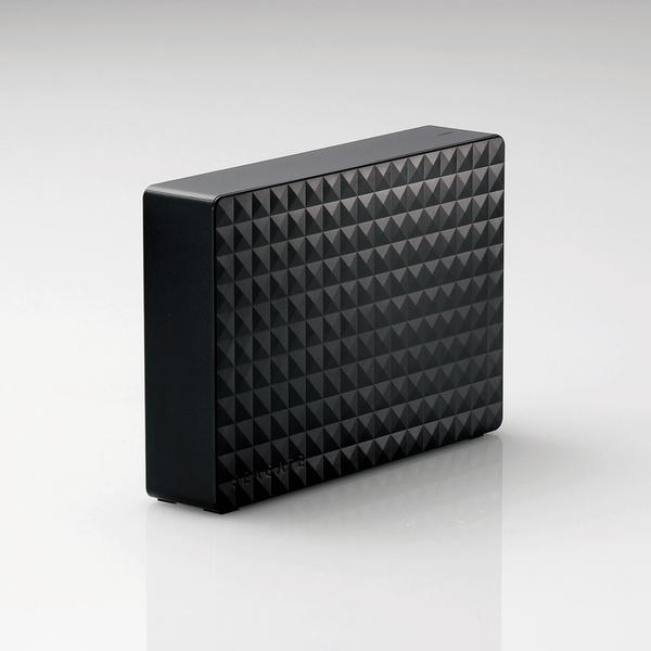 《お取り寄せ》ELECOM(エレコム) 3.5インチHDD USB3.2 Gen1 Seagate New Expansion MYシリーズ 4TB ブラック [SGD-MY040UBK] 【NTFS形式】