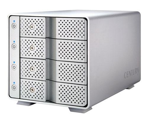 《お取り寄せ》CENTURY(センチュリー) 裸族のカプセルホテル USB3.1 [CRCH35U31CIS]【送料無料】