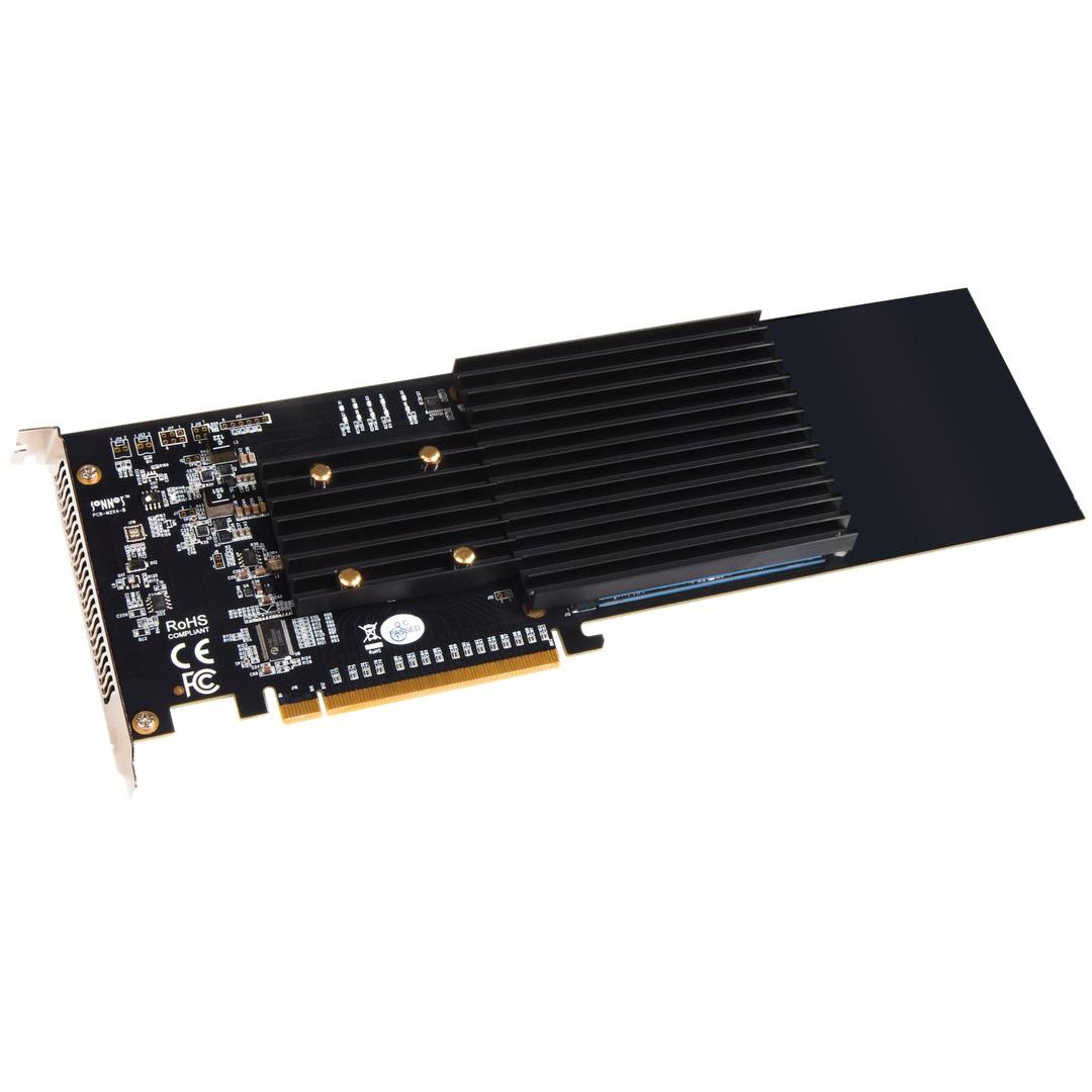 《在庫あり》SONNET Technologies M.2 4x4 PCIe Card (Silent) [FUS-SSD-4X4-E3S]