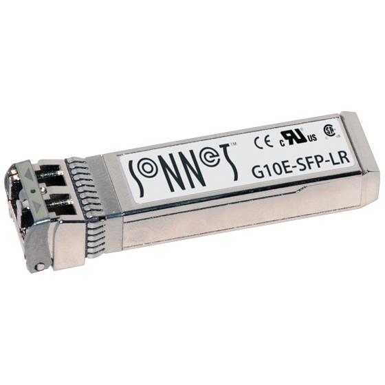《お取り寄せ》SONNET Technologies SFP+ Transciever (Long-Range/10km) [G10E-SFP-LR]
