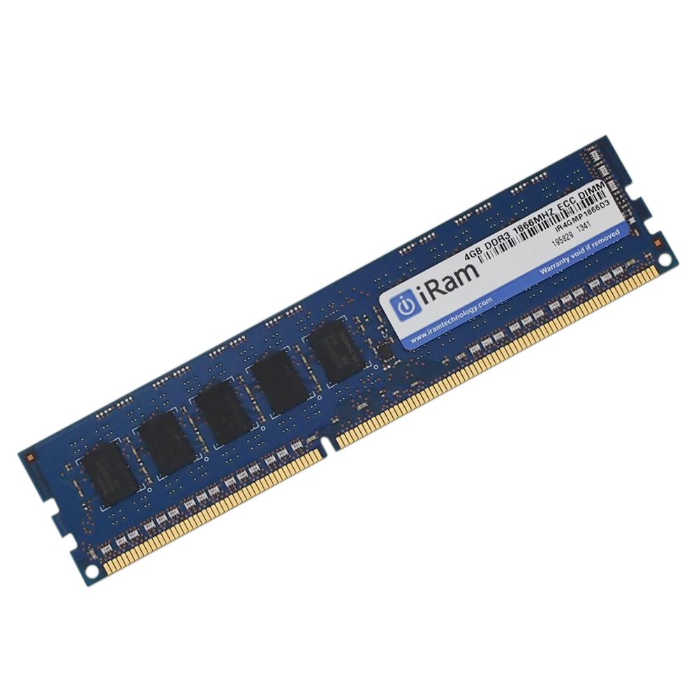《メーカー在庫あり》iRam製 240pin DDR3 1866MHz(PC3-14900) ECC SDRAM 4GB [240-1866-4096-IR]