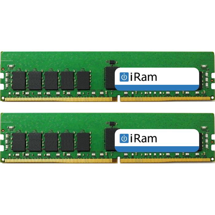 《お取り寄せ》iRam製 256GB DDR4 ECC 2,933MHz LR-DIMM 128GB DIMM x 2 [288-2933-LR128G-IR][288-2933-LR128G-IR]