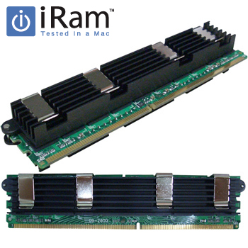 《メーカー在庫あり》iRam製 240pin DDR2 667MHz(PC2-5300) FB-DIMM 8GB(4GBx2) [240-667-4096x2-IR]【macメモリー】