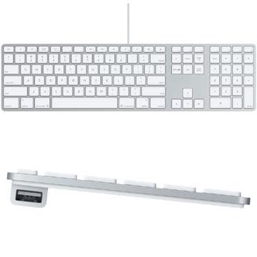 《在庫あり》【中古】Apple Keyboard US 英語版 (テンキー付) [MB110LL/B]
