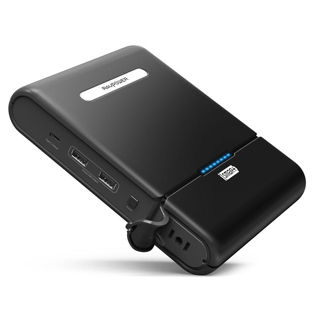《在庫あり》RAVPower 27000mAh ポータブル電源/モバイルバッテリー [RP-PB055]