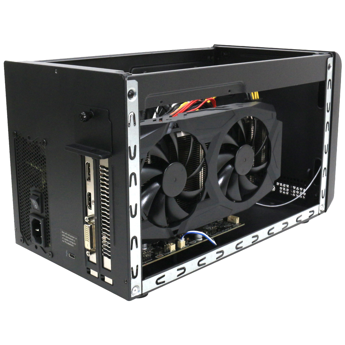 《在庫あり》SONNET Technologies eGFX Breakaway Box 550 RADEON RX580 [GPU-550W-TB3-RX580]