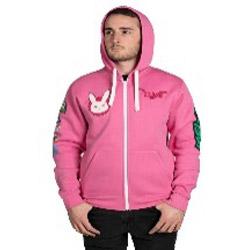 【送料無料】OVERWATCH(オーバーウォッチ) D.Vaパーカー(ピンク) Lサイズ [ゲーミンググッズ ゲーミング eスポーツ] [振込不可]