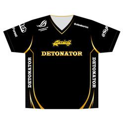 【送料無料】DeToNator(デトネーター) DeToNator(デトネーター)2018 ユニフォーム (サイズ:L) (DTNU003) [ゲーミンググッズ ゲーミング eスポーツ]