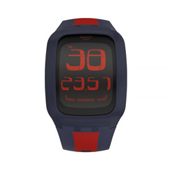 【送料無料】SWATCH SURN101D SWATCH TOUCH DARK BLUE & RED