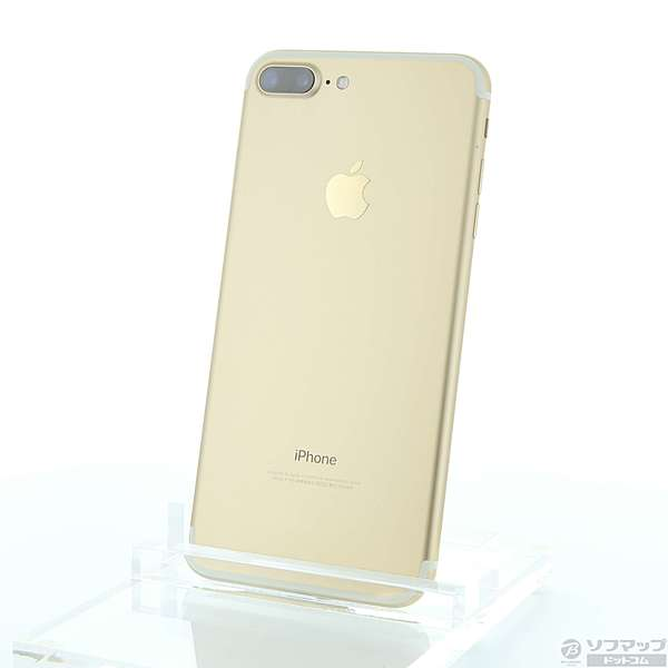 【送料無料】【中古】Apple(アップル)iPhone7 Plus 256GB ゴールド MN6N2J/A au【291-ud】